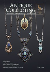 Cover of Antique Collecting Magazine - June 2012