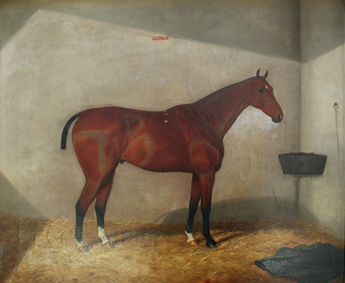 September preview - 'Sailor, a Bay in a Stable' by William Albert Clark