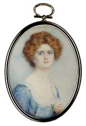 'Miss Horton' by Mrs Gertrude Massey (1868-1957)