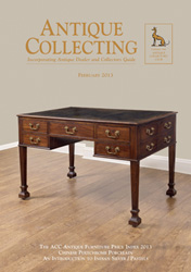 Antique Collecting February 2013 - Furniture Price Index