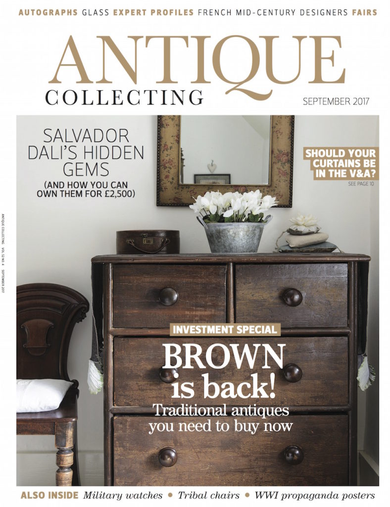 Antique Collecting September magazine