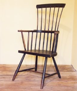 A Welsh stick chair