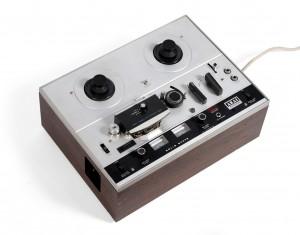 Tubular Bells tape recorder