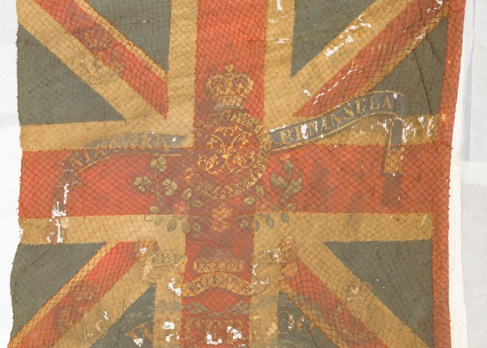 Last chance to view Waterloo flags