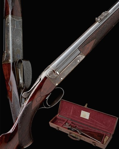 Rare Jeffery rook rifle by Purdey at Holt's