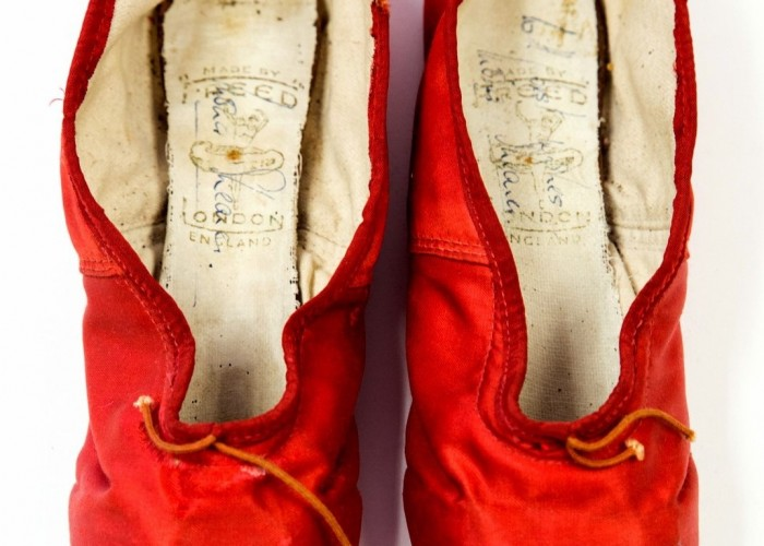 Iconic Red Shoes under the hammer