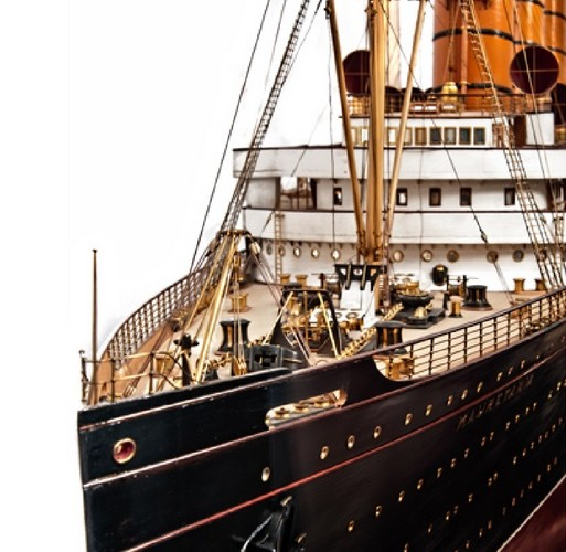 Ship model sails to new record at auction
