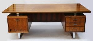 Jørgen Pedersen for E. Pederson & Søn 1960's rosewood desks