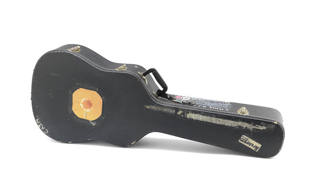 Coldplay frontman's guitar sells at Bonhams