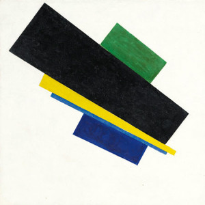 KAZIMIR MALEVICH'S SUPREMATISM, 18TH CONSTRUCTION