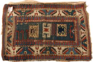 a Kazak rug
