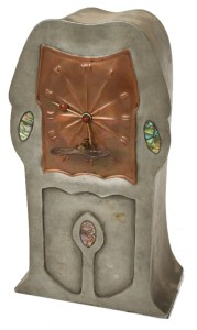 Tudric Liberty & Co. Art Nouveau clock