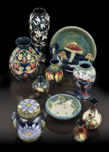 Moorcraft Pottery from Fellows' recent auction