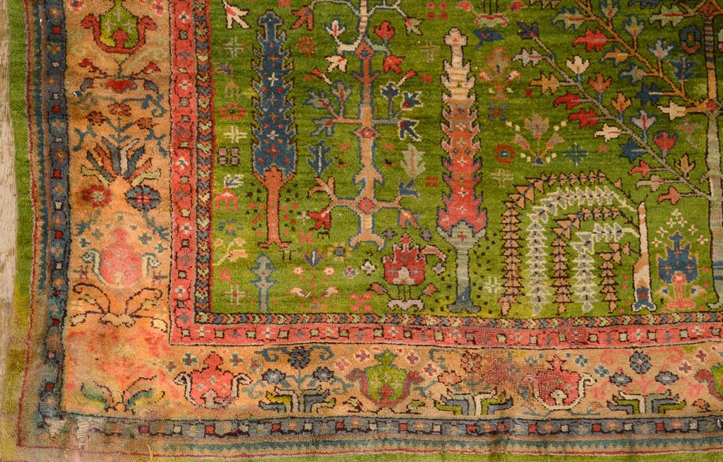 A carpet from Ushak, Western Turkey