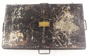 A tin box from Hansons Auctions