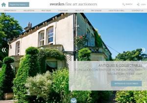 Sworders Fine Art new website