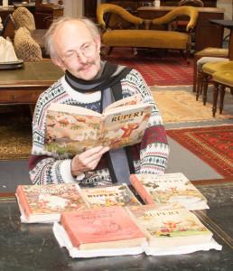 Kevin Bucknall, Hansons' Antiquarian Book expert