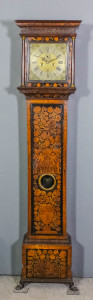 An early 18th Century walnut and marquetry longcase clock by William Speakman Junior £3500