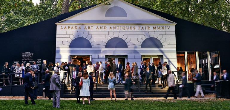 The LAPADA Fair at Berkeley Square, Mayfair, London