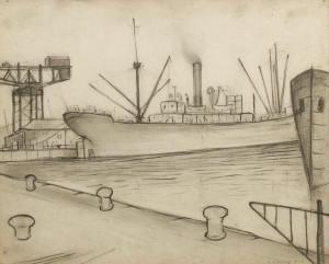 LS Lowry's Queen's Dock, Glasgow