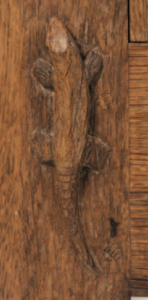 Derek 'Lizardman' Slater's trademark signature