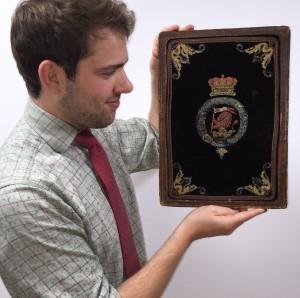 The Duke of Wellington's desk blotter