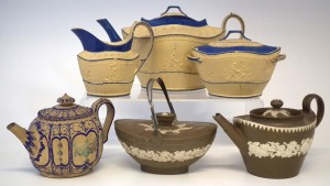 Examples of Lakin stoneware