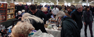 Visitors to the Malvern Antiques & Collectors Fair