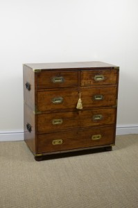 Military chest of drawers