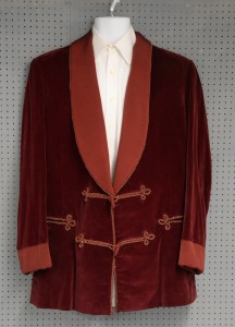 Christopher Lee's velvet jacket