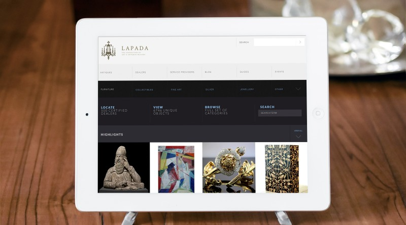 The LAPADA relaunched website