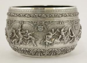 An early 20th century Burmese bowl