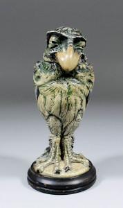 Martinware grotesque bird £10,500