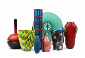 A collection of Venini glass