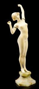 An Art Deco nude