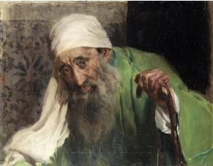Joaquin Sorolla y Bastida (Spanish, 1863-1923) Un Hebreo