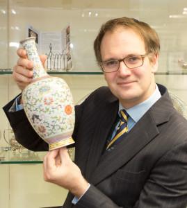 Charles Hanson and Qianlong vase