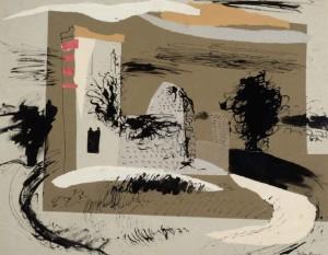 Knowlton Dorset - John Piper