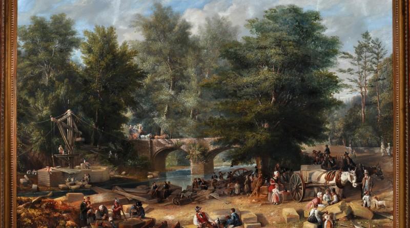 John Wilson Carmichael's Old Stannington Bridge