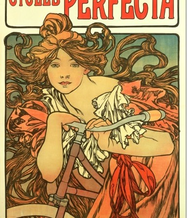 Alphonse Mucha advert