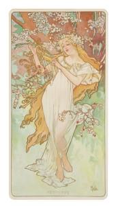 Alphonse Mucha's Spring