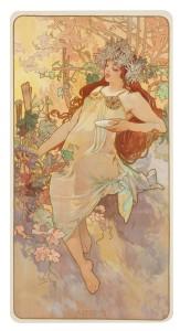 Alphonse Mucha's Autumn