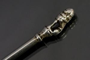 Silver spoon detail