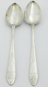 HR LIMERICK TABLE SPOONS BY MAURICE FITZGERALD