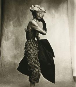 Irving Penn (1917-2009) COCOA DRESS (BALENCIAGA), LISA FONSSAGRIVES-PENN, PARIS