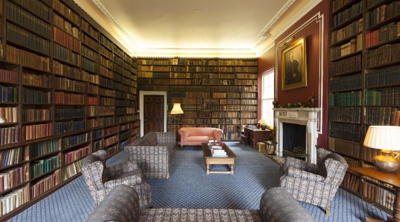Hawkstone Hall library