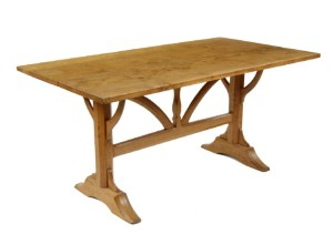 Gordon Russell oak wishbone table with pegged joints