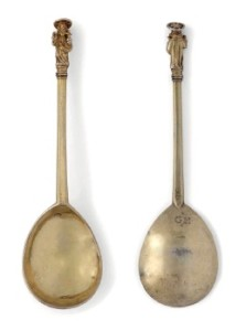 A Henry VIII silver-gilt Apostle spoon