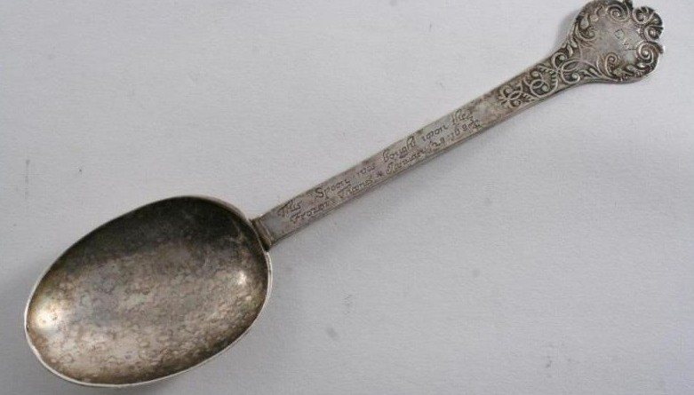 17th century frozen Thames spoon