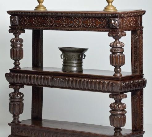 Antique furniture has a unique patina